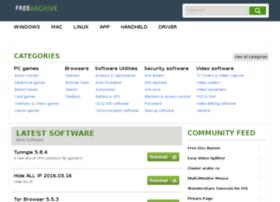 Freearchive.net thumbnail