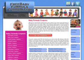 Freebabyformulacoupon.com thumbnail