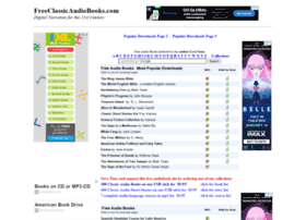 Freeclassicaudiobooks.com thumbnail