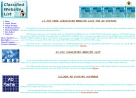 Freeclassifiedwebsitelist.com thumbnail