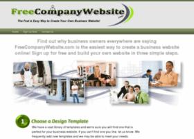 Freecompanywebsite.com thumbnail