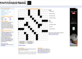 Freecrosswordpuzzles.com.au thumbnail