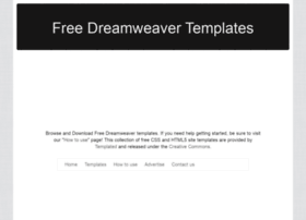 Freedreamweavertemplatesorg at wi free dreamweaver for Free php templates for dreamweaver