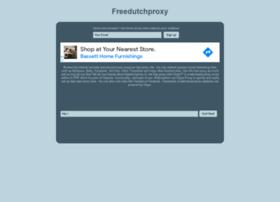 Freedutchproxy.nl thumbnail