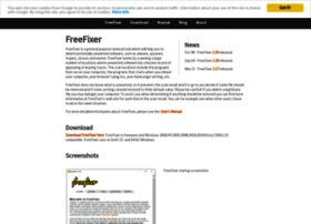 Freefixer.com thumbnail