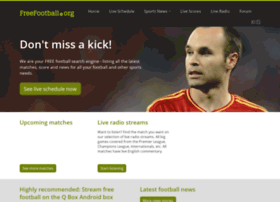 Freefootball.org thumbnail