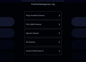 Freefootballgames.org thumbnail