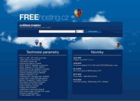 Freehosting.cz thumbnail