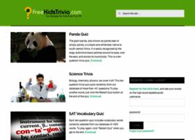 Freekidstrivia.com thumbnail