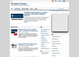 Freelancer-exams.blogspot.com thumbnail