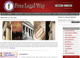 Freelegalway.in thumbnail