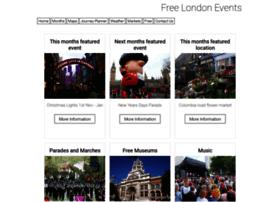 Freelondonevents.co.uk thumbnail