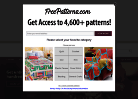 Freepatterns.com thumbnail