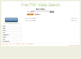 Freephpvideosearch.com thumbnail