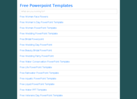 Freepowerpointtemplates.us thumbnail