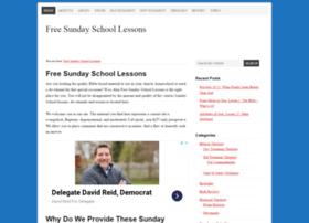 Freesundayschoollessons.org thumbnail