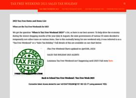 Freetaxweekend.com thumbnail