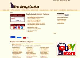 Freevintagecrochet.com thumbnail