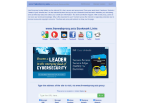 Additional websites related to 12345proxy freewebproxy