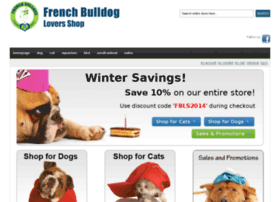 Frenchbulldogloversshop.com thumbnail