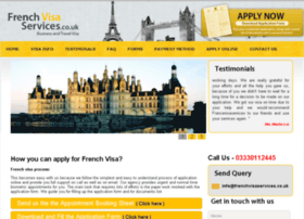 Frenchvisaservices.co.uk thumbnail