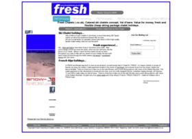 Freshchalets.co.uk thumbnail