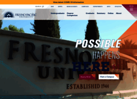 Fresno Edu At Wi Fresno Pacific University