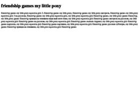 Friendship-games-my-little-pony.tdsse.com thumbnail