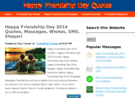 Friendshipdayquotes.net thumbnail