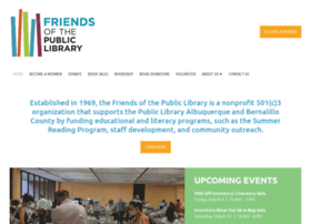 Friendsofthepubliclibrary.org thumbnail