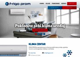 Frigoprom.hr thumbnail