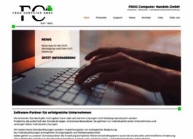 Frog-computer.de thumbnail