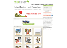 Frogprints.co.nz thumbnail