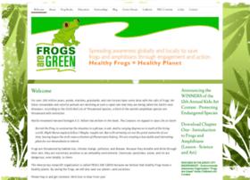 Frogsaregreen.org thumbnail