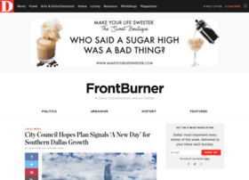 Frontburner.dmagazine.com thumbnail
