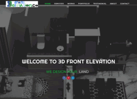 3D Front Elevation.com House-Home-Contemporary-Modern-Villa-Modern ...