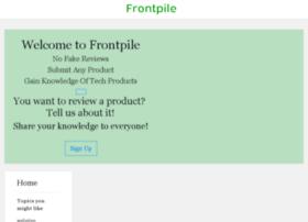 Frontpile.com thumbnail