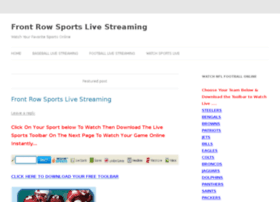 Frontrow-sports.net thumbnail