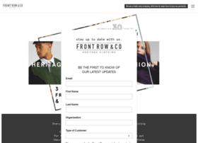 Frontrowclothing.co.uk thumbnail