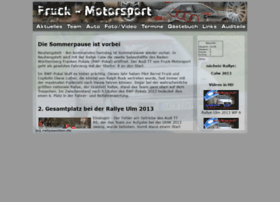 Fruck-motorsport.de thumbnail