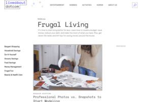 Frugalliving.about.com thumbnail