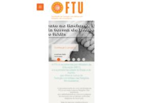 Ftu.edu.br thumbnail