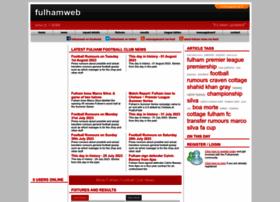 Fulhamweb.co.uk thumbnail