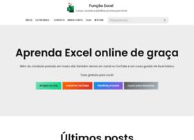 Funcaoexcel.com.br thumbnail