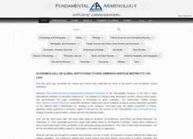Fundamentalarmenology.am thumbnail