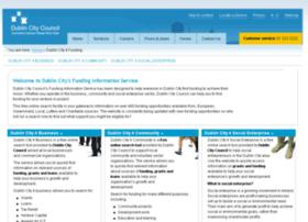 Funding4dublincity.ie thumbnail