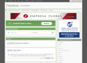 Funebres.lagaceta.com.ar thumbnail