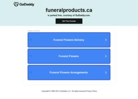 Funeralproducts.ca thumbnail