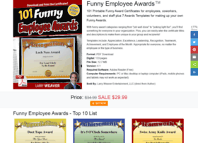 Funnyemployeeawards.com thumbnail