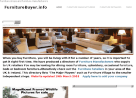 Furniturebuyer.info thumbnail